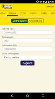 Screenshot of SAZKAmobil
