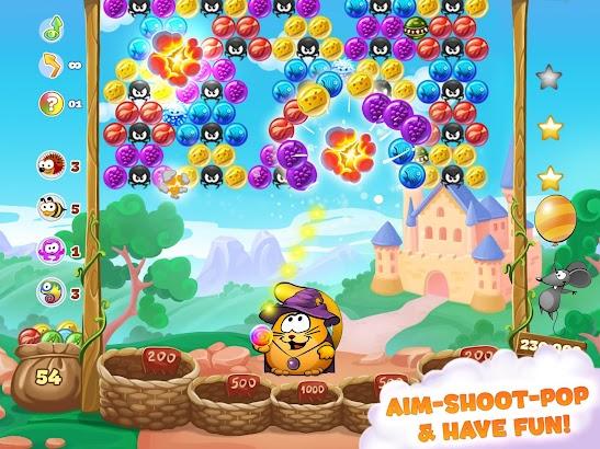 Bubble Cat Adventures: shoot and pop the bubbles! screenshot