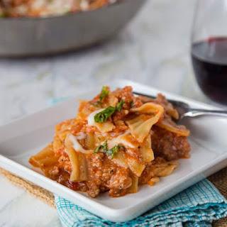 Easy Weeknight Lasagna #HealthyPastaMonth Recipe