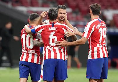 Atlético Madrid lijdt opniew puntenverlies en begint zwak aan de competitie