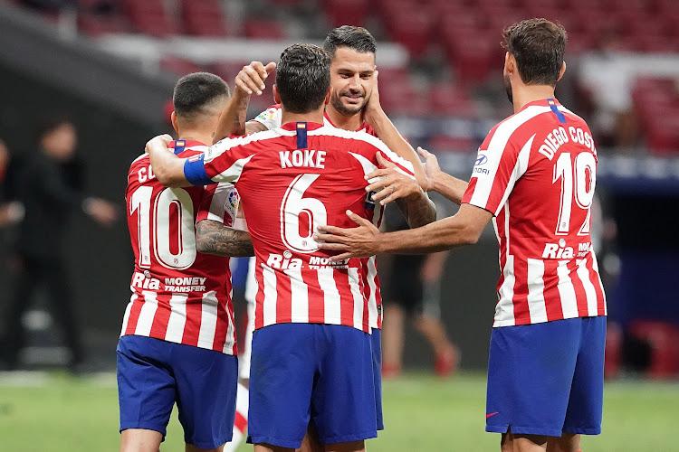 Atlético Madrid neemt de leiding in Spanje: nog 6 wedstrijden te gaan
