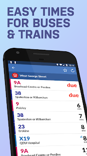 Sheffield Bus & Train Times - náhled