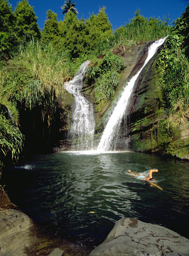 Escape to Grenada and enjoy some incredible waterfalls.