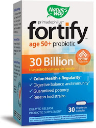 Nature's Way Primadophilus Fortify Age 50+ Delayed Release Probiotic Supplement