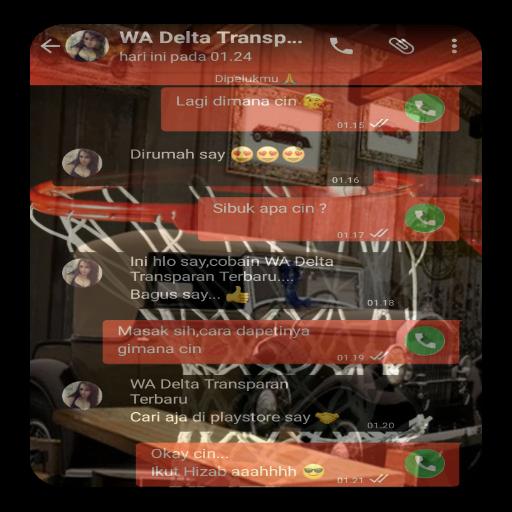 WA Delta Transparan Terbaru