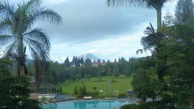 Photo: En af flere aktive vulkaner