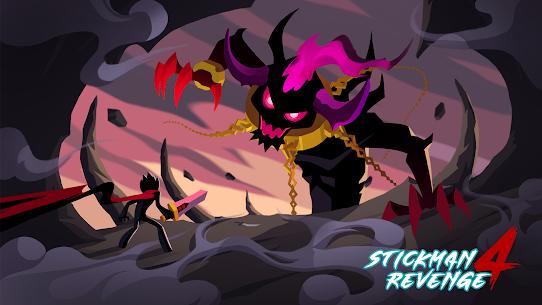 Stickman Revenge 4: Epic War Mod Apk (Unlimited Crystals and Stamina) 1