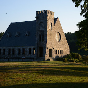 Old Stone Church by Eddy Dufault - Buildings & Architecture Public & Historical
