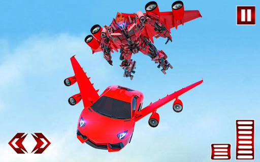 Flying Car- Super Robot Transformation Simulator 1.0.7 screenshots 17