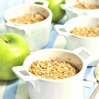 Healthy Mini Apple Crisps
