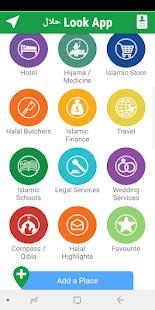 Halal LookApp - náhled