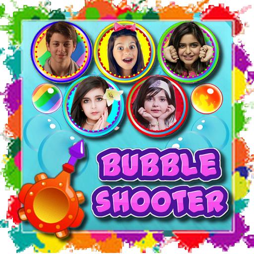 Bubble Shooter مع النجوم الصغار