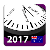 2017 Aussie Holiday Calendar