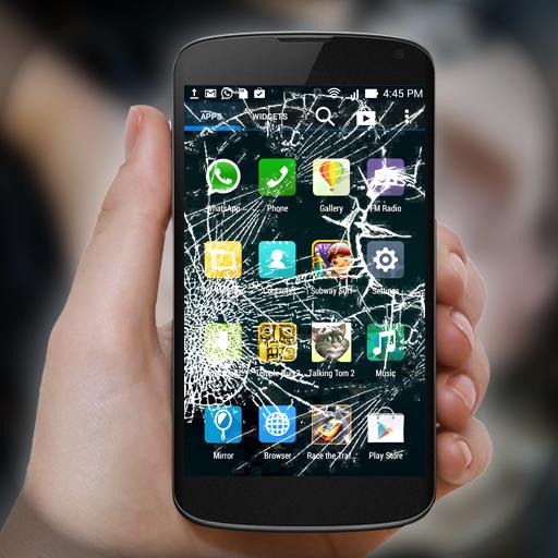 iPhone Crack Screen Prank (game)