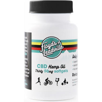 Floyds of Leadville CBD 50mg Hemp Oil Capsules