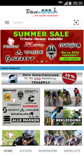 Trikotexpress Shop- screenshot thumbnail