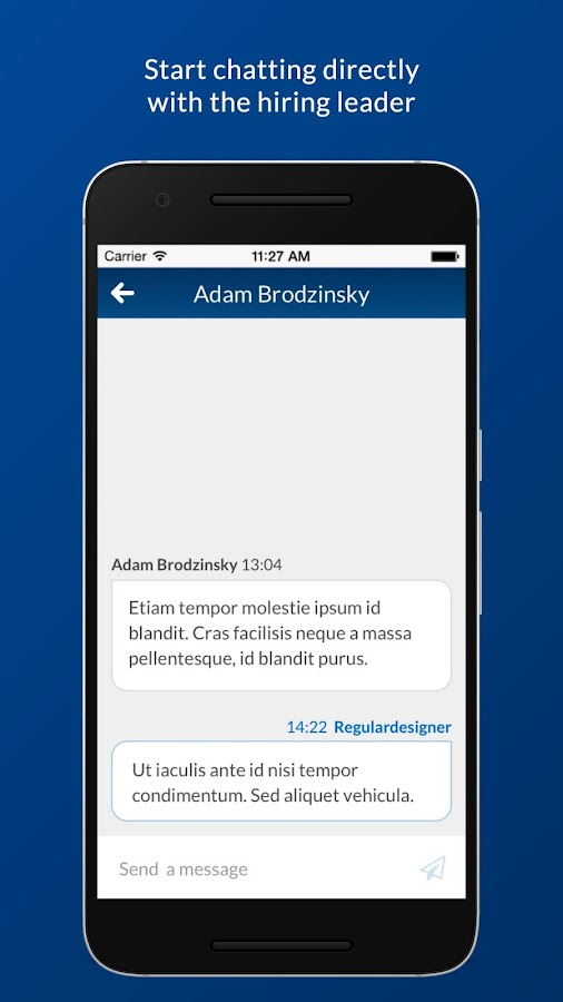 Blonk Candidate- screenshot