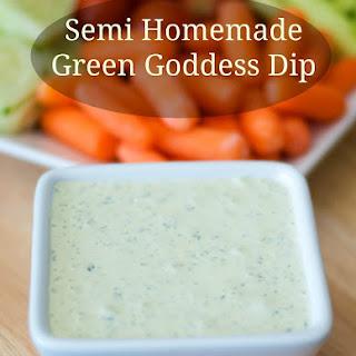 Semi-Homemade Green Goddess Dip