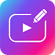 Text on Video: Vont & Phonto editor -Bizny