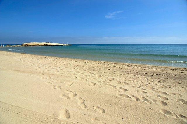 Pulpí, playa Mar Serena.