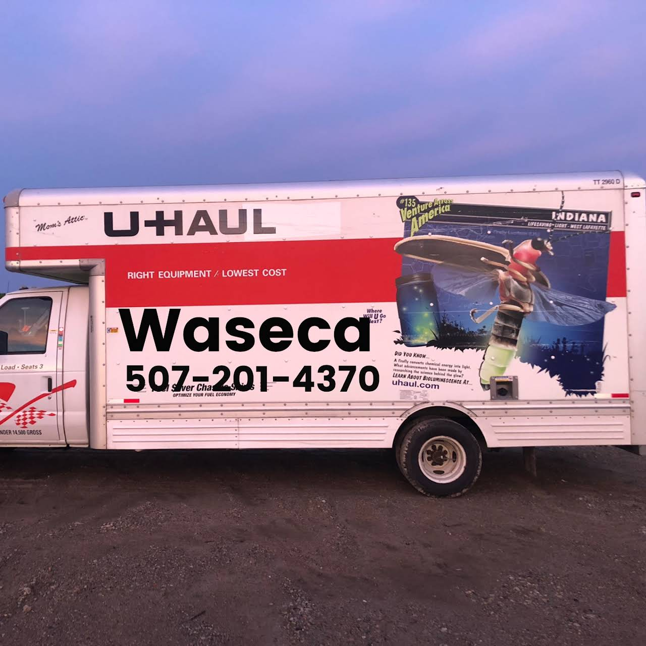 Waseca U Haul - Waseca U Haul is, open 7 days a week with a wide