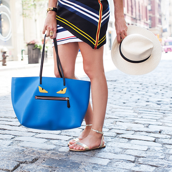 Summer in the city: Jodie's signature sandal style