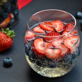 Red, White, & Blue Sangria.