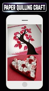 DIY Paper Quilling Making Home Ideas Designs craft - náhled
