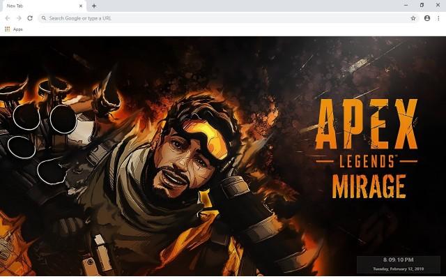 Apex Legends Custom New Tab