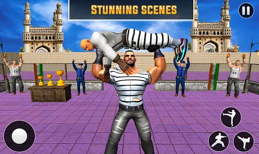 Grand Ring Battle: Fight Prisoner Karate Fighting android2mod screenshots 4