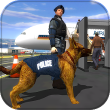 Police Dog Airport Crime Chase : Dog Games Download on Windows