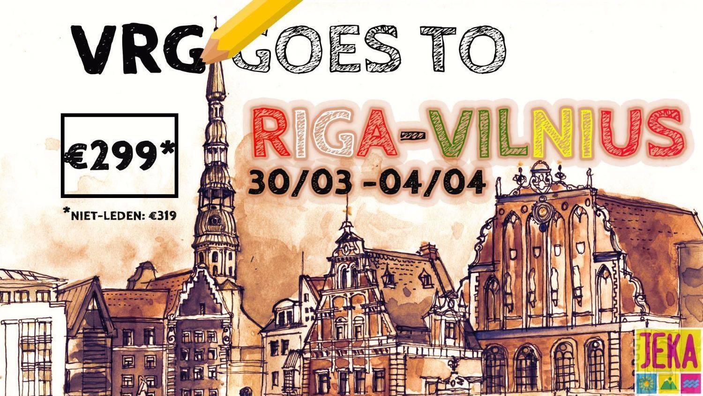 VRG cultuurreis Riga & Vilnius