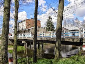 Photo: 58,9 km Kurzeszyn, młyn i most