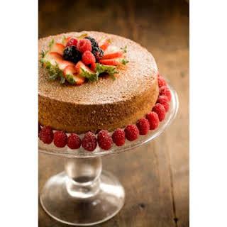 Grandmother Paul's Sour Cream Pound Cake.