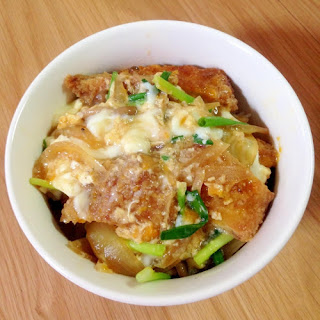 Healthy Chicken Katsudon (Chicken Cutlet Rice Bowl)