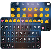 Smile Emoji Keyboard Theme