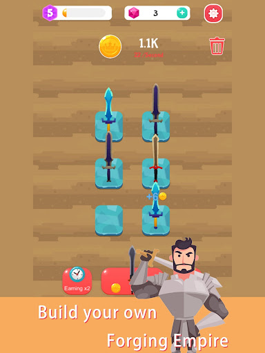 Merge Sword - Idle Blacksmith Master  screenshots 6