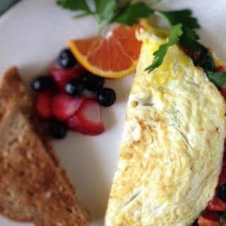 Eat-Clean Egg White Omelet.