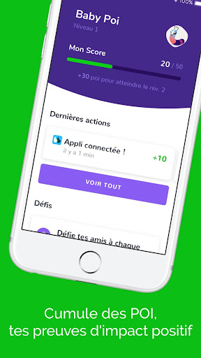 Poi - Mesure ton impact positif screenshot 3