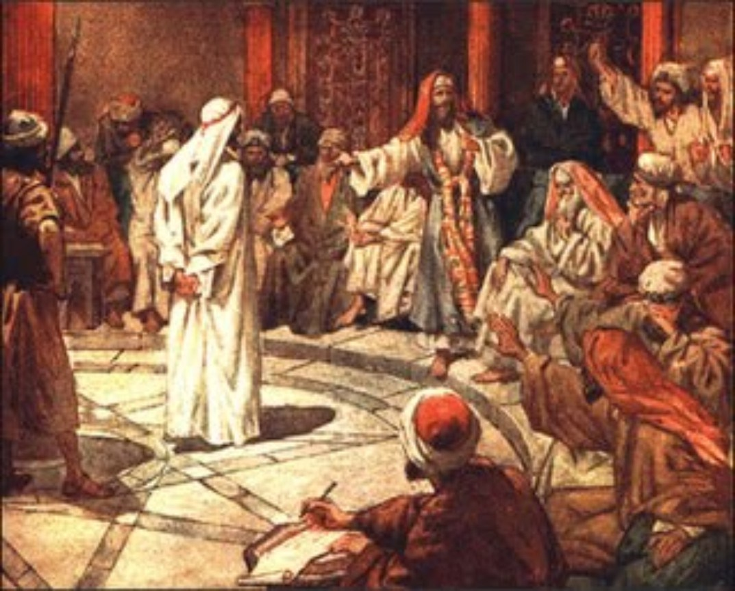 Paul stands before the Sanhedrin