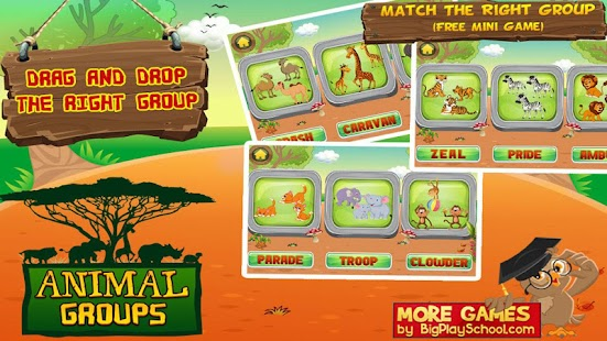 Animal Groups - Learn Animals- screenshot thumbnail