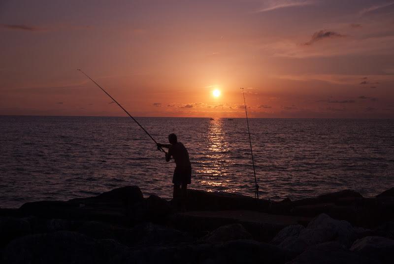 Pesca al tramonto di Badgod91