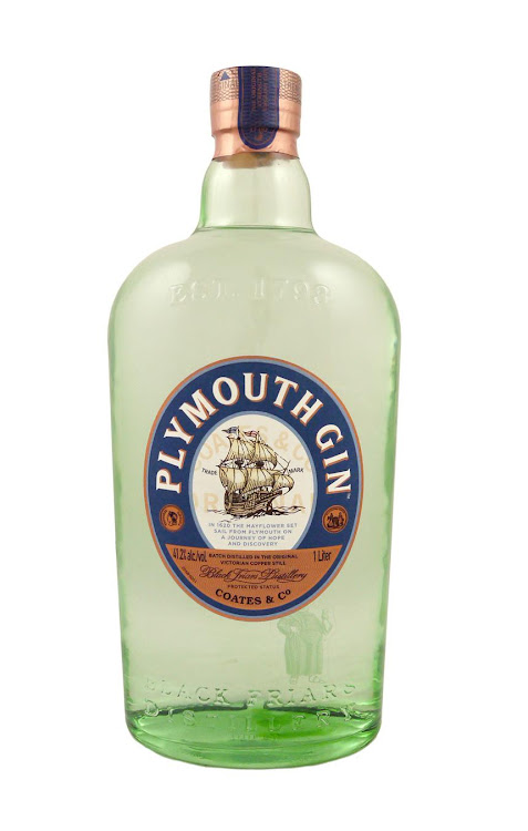 Logo for Plymouth Gin