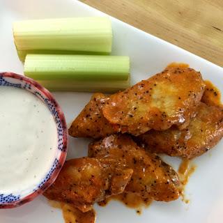 Spicy Buffalo Chicken Wings.