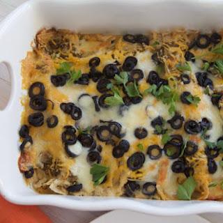 Easy Chicken Enchiladas Salsa Verde