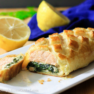 Salmon Wellington Spinach Recipes