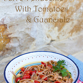 Farro Pasta With Guanciale & Cherry Tomatoes
