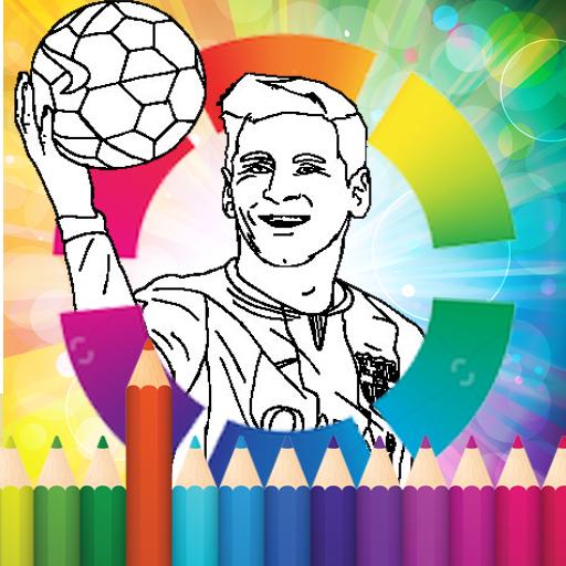 coloring Stars ball football