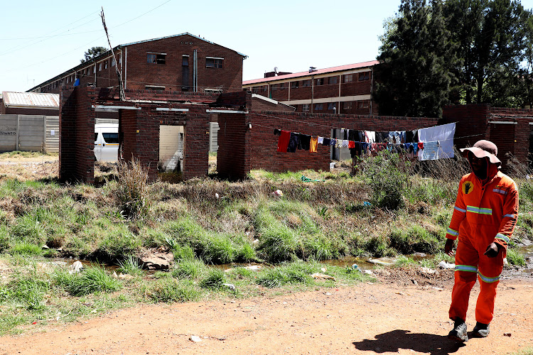 George Goch hostel in Johannesburg was one of the places with the most crime-related deaths