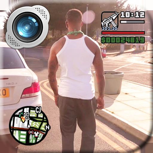 Grand Theft Gangster Photo Maker